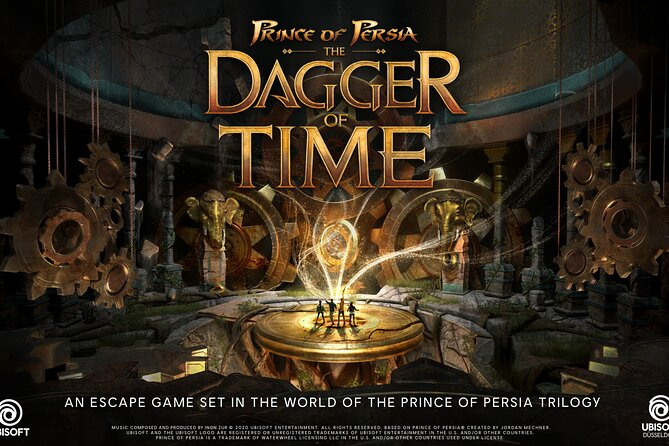 Ubisoft Prince of Persia: The Dagger of Time is 2, 3 or 4 escape game in VR
