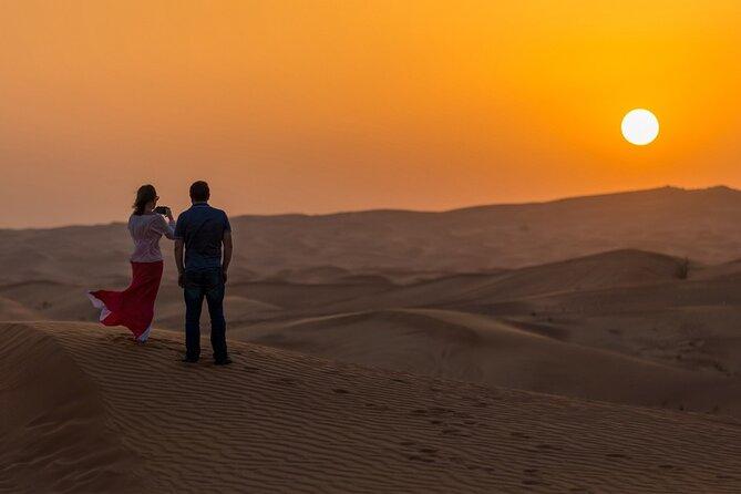 Abu Dhabi Evening Desert Safari - Private Car