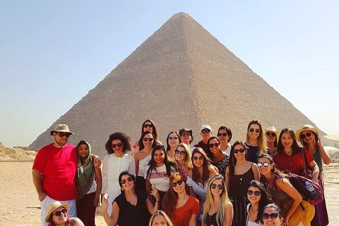 Full-Day Private Tour Cairo and Giza from Hurghada with Lunch