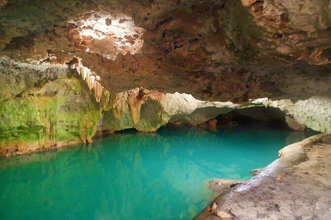 Amazing Cave with Underground River and 2 Sinkholes Guided Visit. Unique Tour