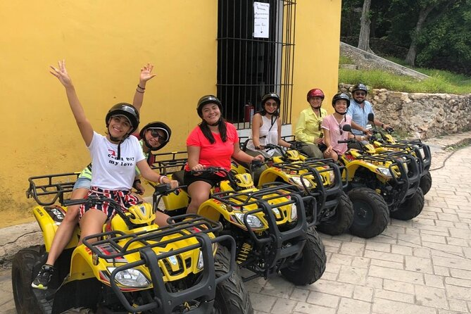 Private tour at magic town of Izamal with Atv´s