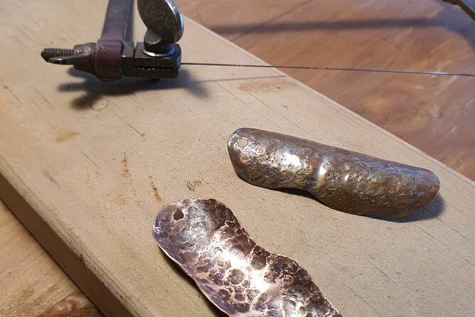 Half Day Copper Jewellery Class in Historic Russell