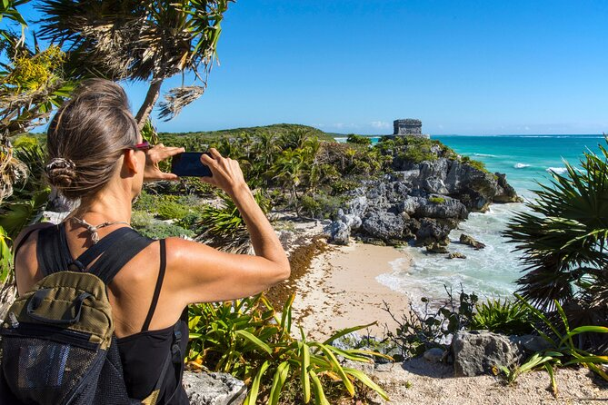 Full-Day Private Tour to Tulum Archaeological Site and Cenote