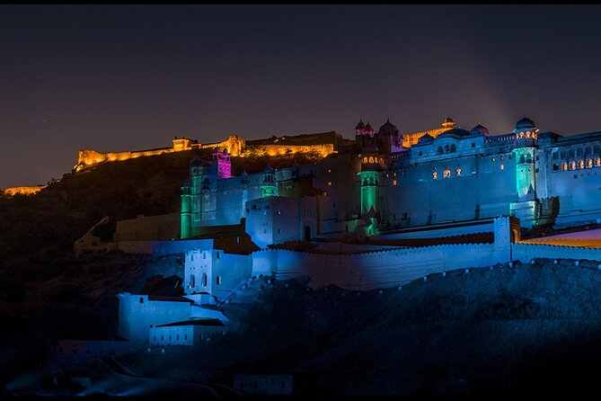 Private Evening Session at Amber Fort Sound and Light Show