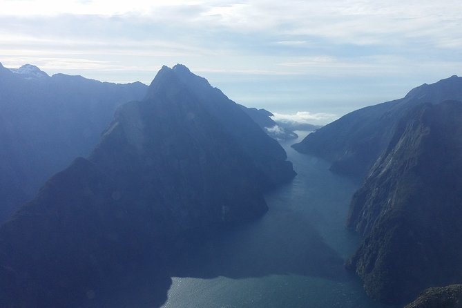 Mitre Peak Helicopter Scenic Flight from Milford Sound