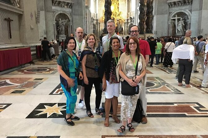 VVV SkipTheLine SmallGroup: Vatican Museums Sistine Chapel and St Peter Basilica