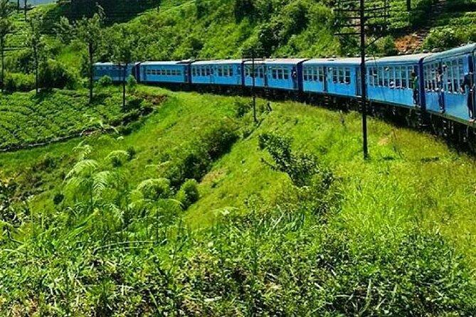 "Colombo to Nanu Oya train ride on (Train No: 1005 ""Podi Menike"")"