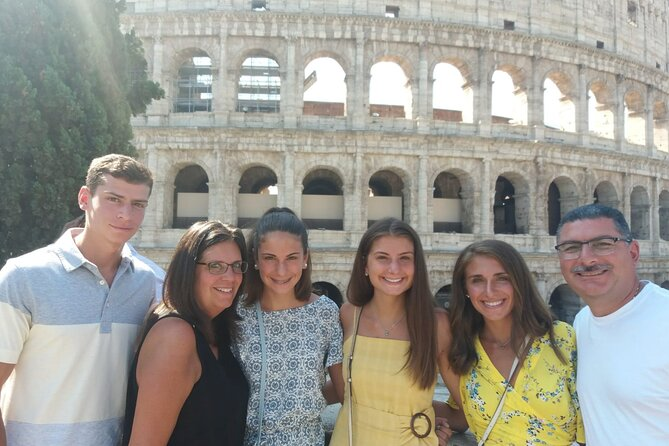 CCC SkipTheLine Colosseum and Roman Forum with Expert Guide