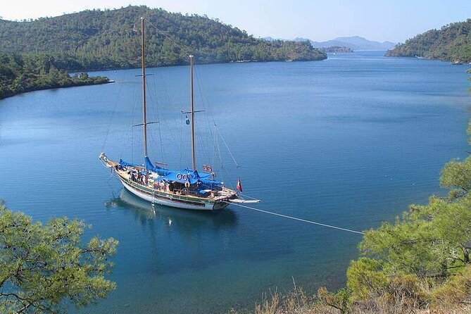 Blue Cruise by a Private Yacht - Bodrum to Bodrum Route