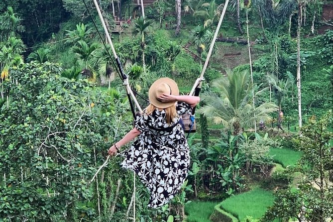 Bali Jungle Swing and Ubud Tour