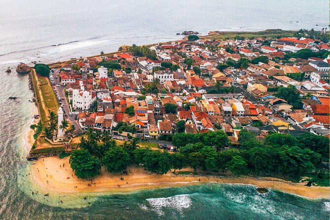 Scenic Galle by Airplane from Koggala Airport (KCT)