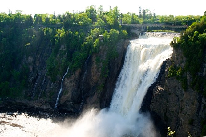 Private Montmorency Falls & Orleans Island from Quebec - Hotel pick up