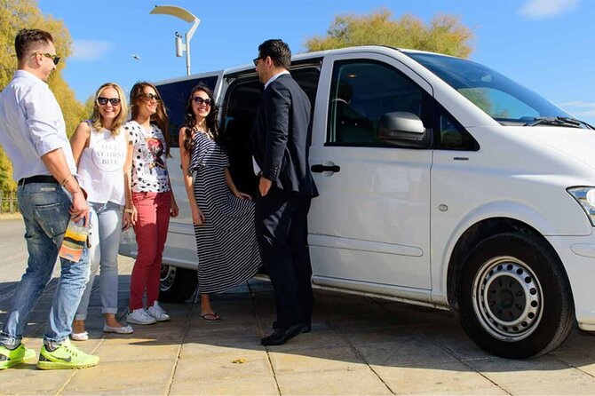 Transfer Siena to/from Fiumicino FCO Airport optional Orvieto Stop