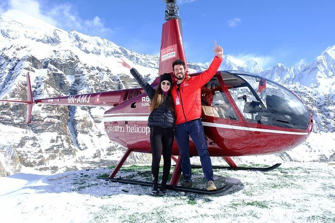 Small-Group Helicopter Flight Tour of Annapurna Base Camp