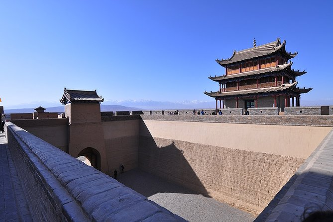 2 Days Jiayuguan Private Tour with Overhanging Great Wall