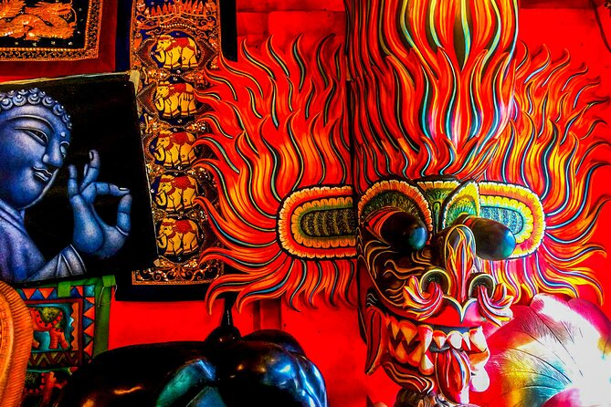 Mask Making Workshop from Galle