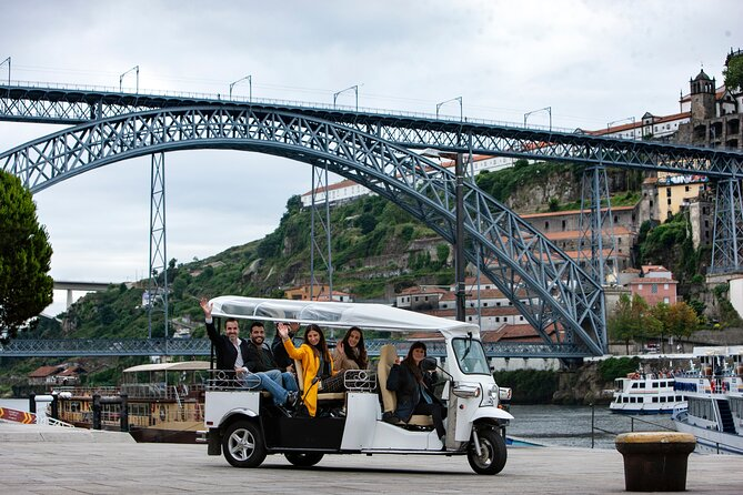 Private Electric Tuk Tuk Sightseeing Tour of Historic Porto