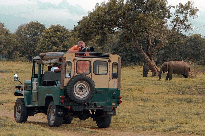 Udawalawe National Park Safari from Koggala
