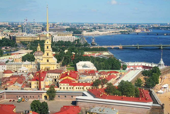 St Petersburg Peter and Paul Fortress visit & Private boat tour