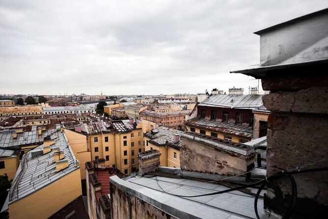 Rooftop walk experience Tour in St. Petersburg