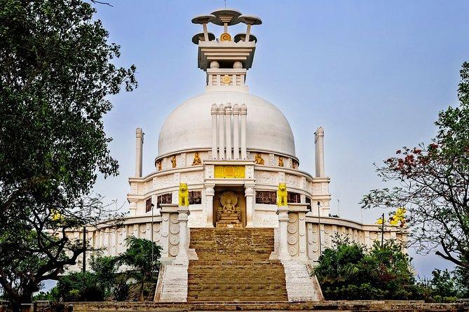 Discover Dhauli Shanti Stupa Bhubaneswar(Guided Halfday Sightseeing Tour by Car)