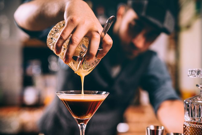 Luxury Espresso Martini Experience + Food Pairings for private groups