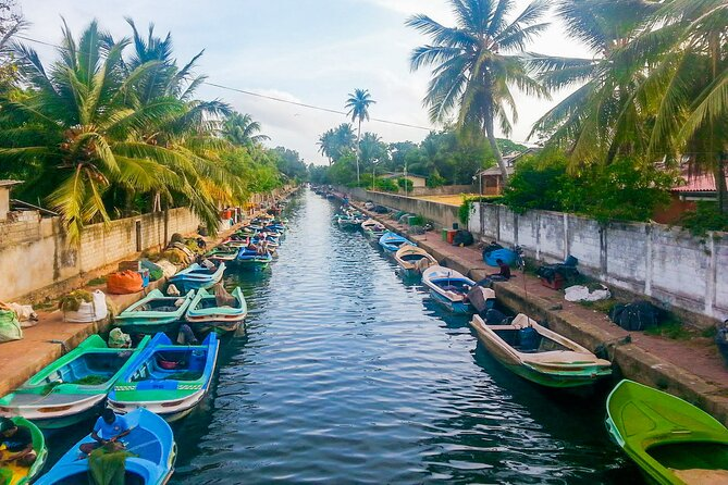 Dutch Canal Boat Tour from Negombo