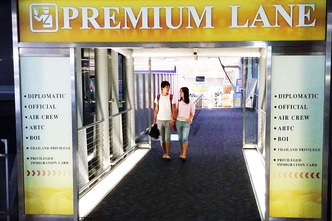 Guided Arrival Fast-Track Service: Don Mueang International Airport