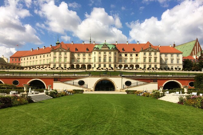 The Eastern facade of the Royal Castle that visitors often miss.