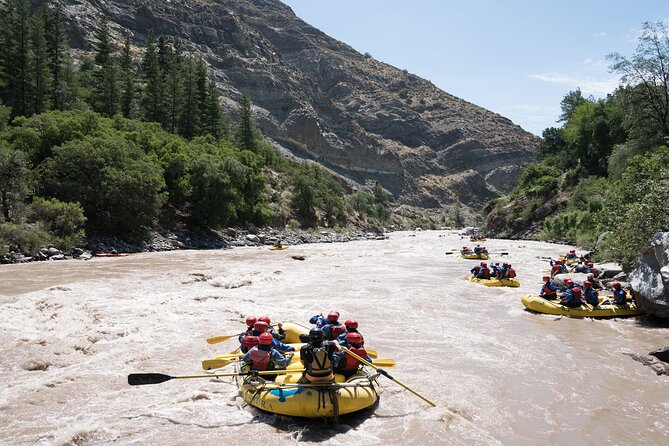 Maipo River Rafting Private Tour