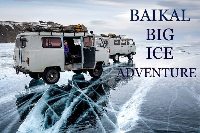 BIG ICE ADVENTURE 2021 Lake Baikal, Hot springs, Olkhon Island