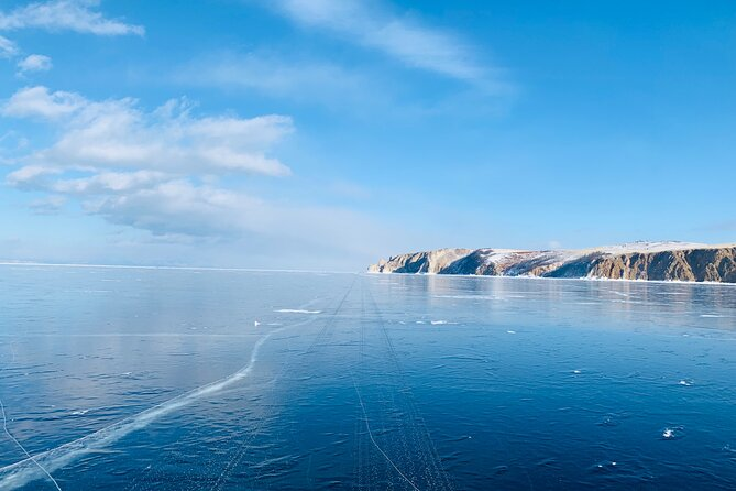 Ice road to Ust-Barguzin