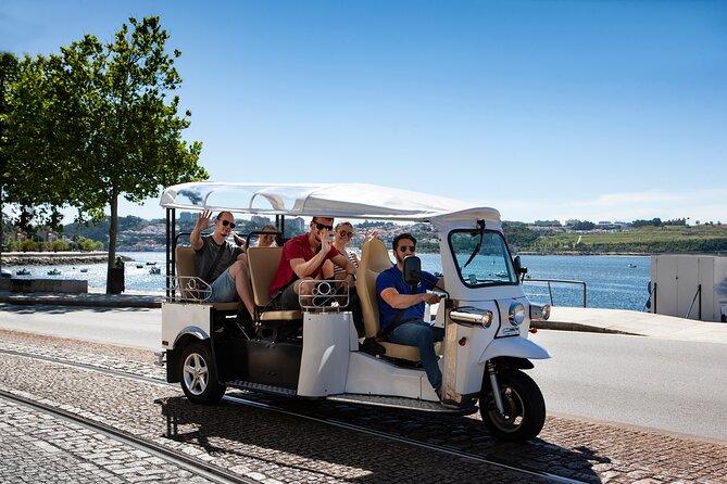 Half Day Private Tour of Historic Porto and Afurada Beach Village on a Tuk Tuk