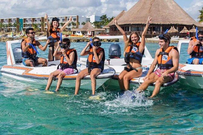 Speedboat Adventure in Nichupte Lagoon from Cancun