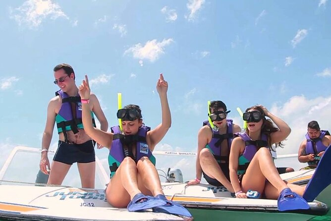 Speedboat from Cancun with snorkeling for the best price, book now!