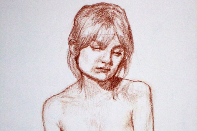 Take off your clothes and let yourself be drawn!