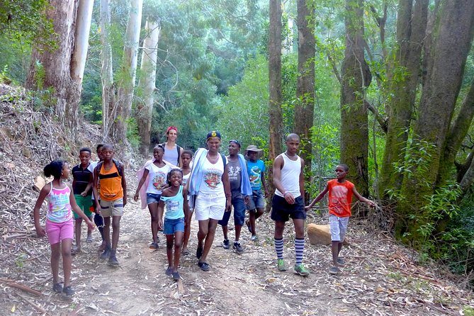 Go Hiking with Township Kids for their 1st time