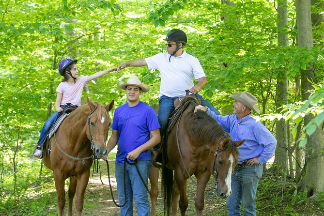 Sky to Stables - Helicopter/Horse Riding Family Package