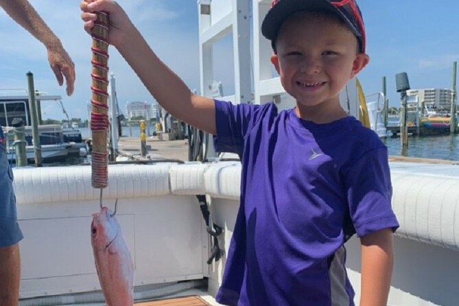 6 Hour Family Fun Fishing Charter on a Private Boat