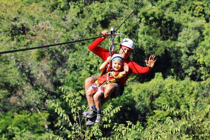 Zip Line Canopy Jungle Adventure from Puerto Vallarta