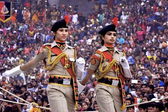 Wagha Border Parade Amritsar