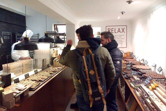Brighton chocolate tour - Yummm... :)
