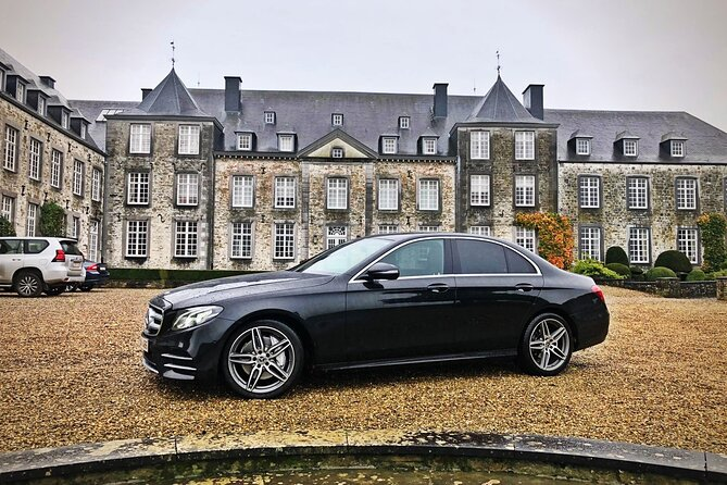 Private transfer from Brussels Airport <-> Gent MB E-CLASS 3 PAX