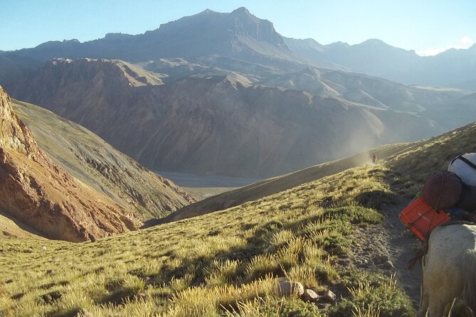 Horseback Riding in the Andes Mountains from Menzoza