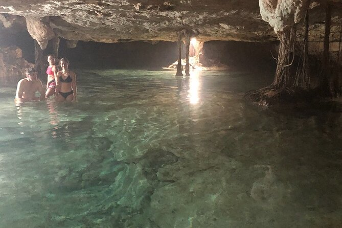 FANTASTIC Akumal Tour Swimming with Turtles and Cenote (sinkhole)