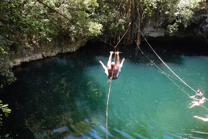 UNIQUE Jungle Adventure Driving your own ATV included Ziplines and Cenote