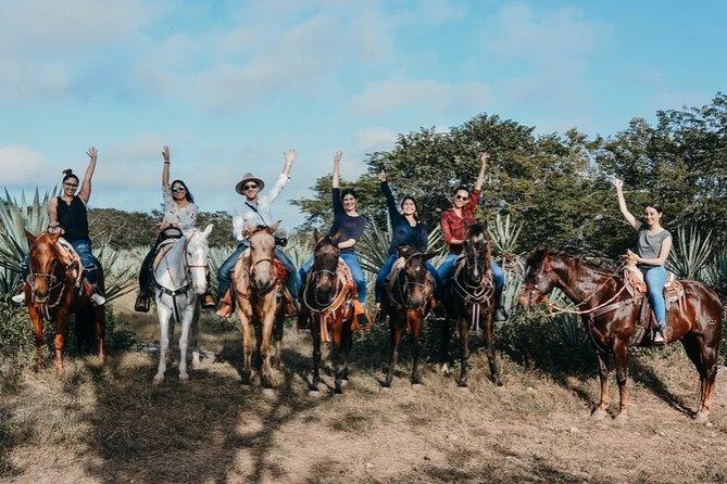 Private horseback tour at Santa Rita Shredder