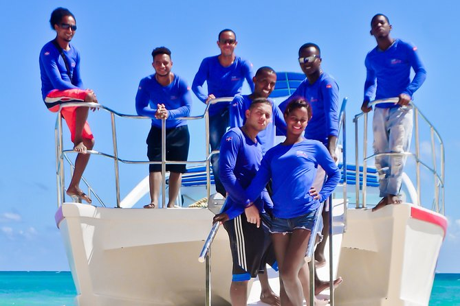 Catamaran tour to Bavaro Natural Pool.