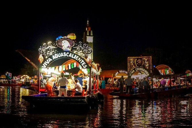 Incredible Amphibious Vehicles with Ziplines and Mexican Festival at night
