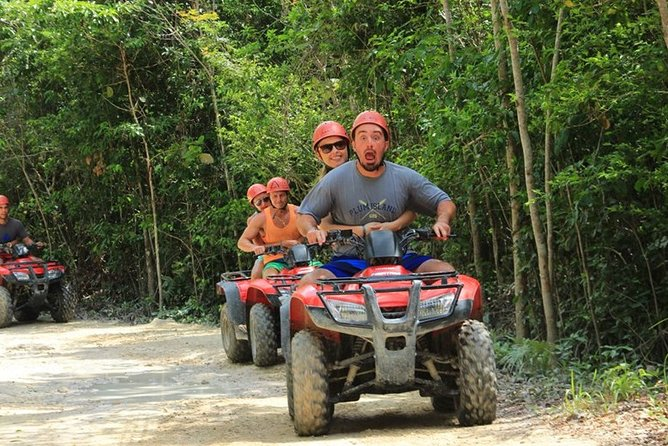 Amazing Atv (shared) Zipline and Cenote & Included Lunch
